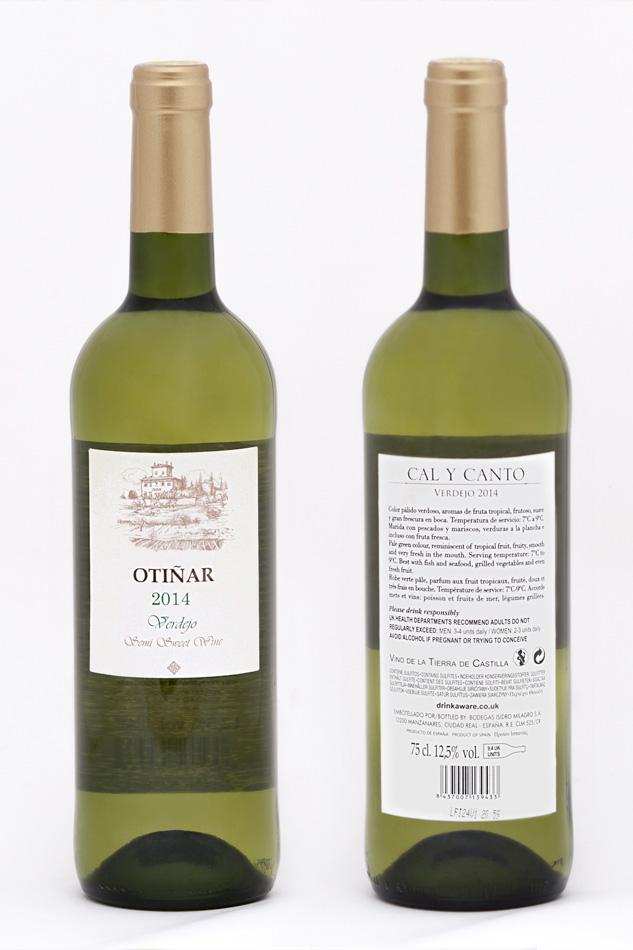 Fotografía Botella vino