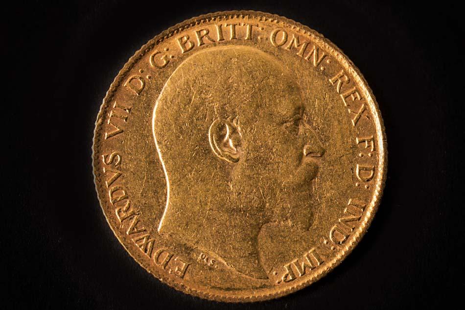 fotografías profesionales de monedas